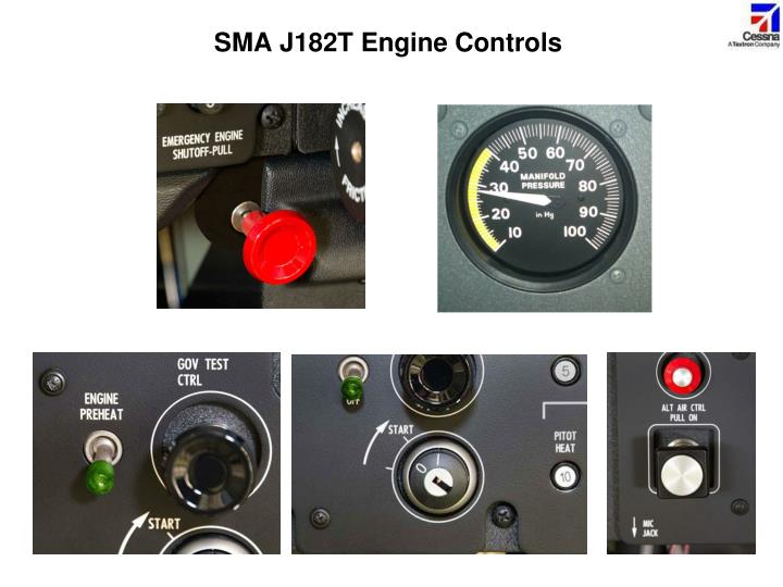SMA J182T Engine Controls