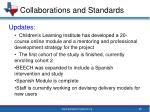 collaborations and standards5