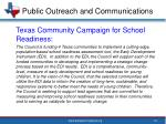 public outreach and communications2