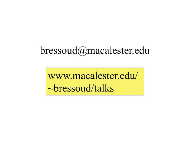 bressoud@macalester.edu