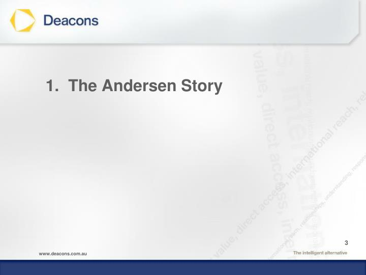1 the andersen story