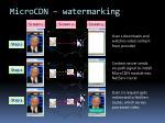 microcdn watermarking