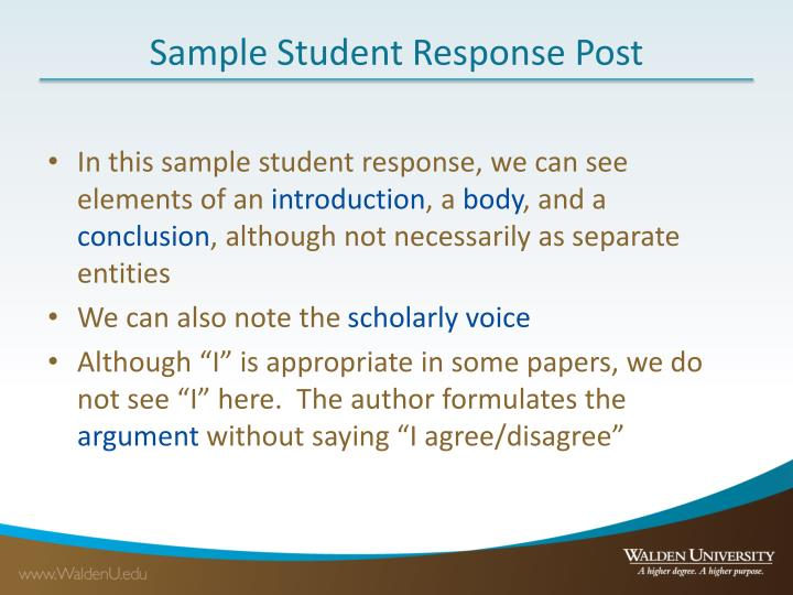 scholarly voice essay The first person in academic writing because i said so: continue to discourage the first-person perspective and the personal voice in academic papers.