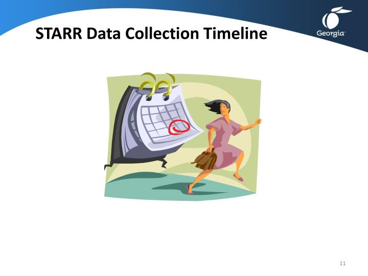 STARR Data Collection Timeline