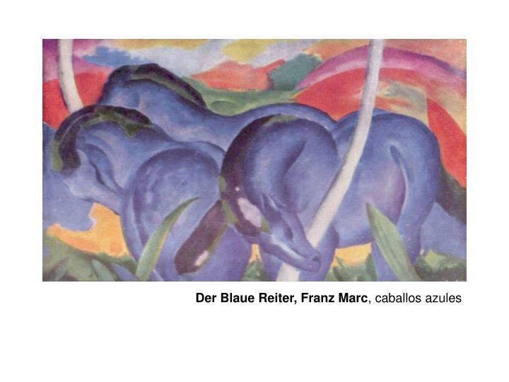 Der Blaue Reiter, Franz Marc
