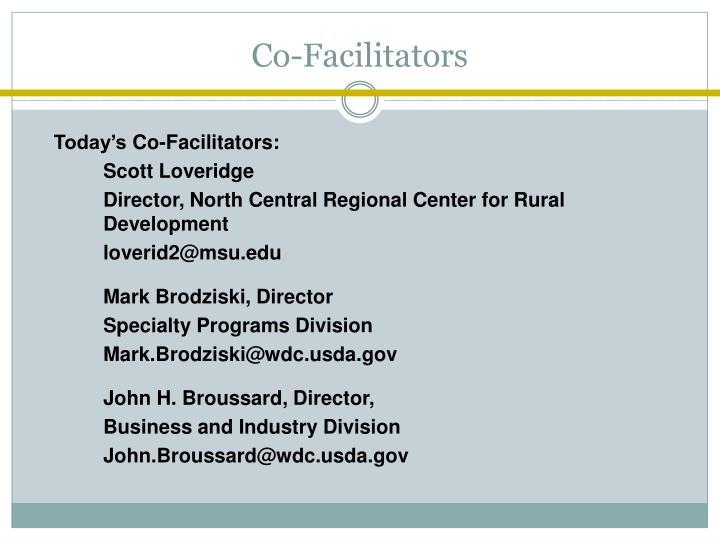 Co-Facilitators
