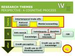 research themes perspective a cognitive process1