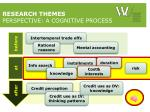 research themes perspective a cognitive process2