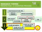 research themes perspective a cognitive process3