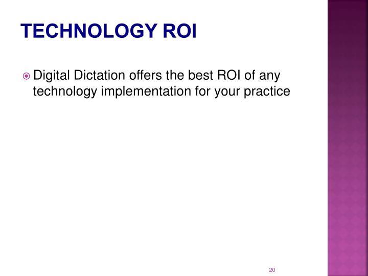 Technology ROI
