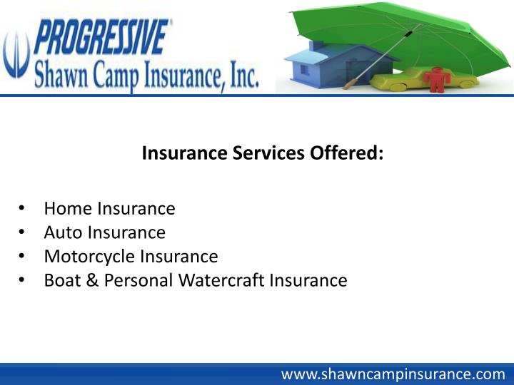 Insurance Services Offered: