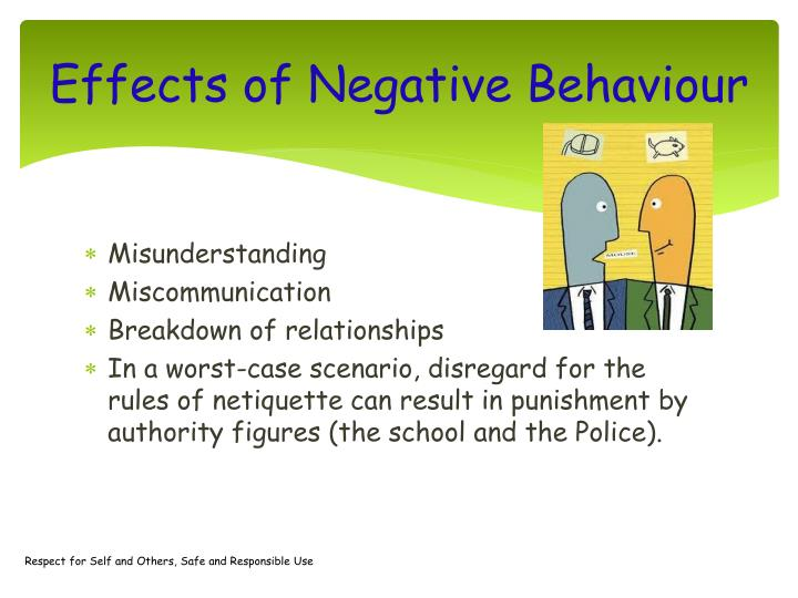 Effects of Negative Behaviour