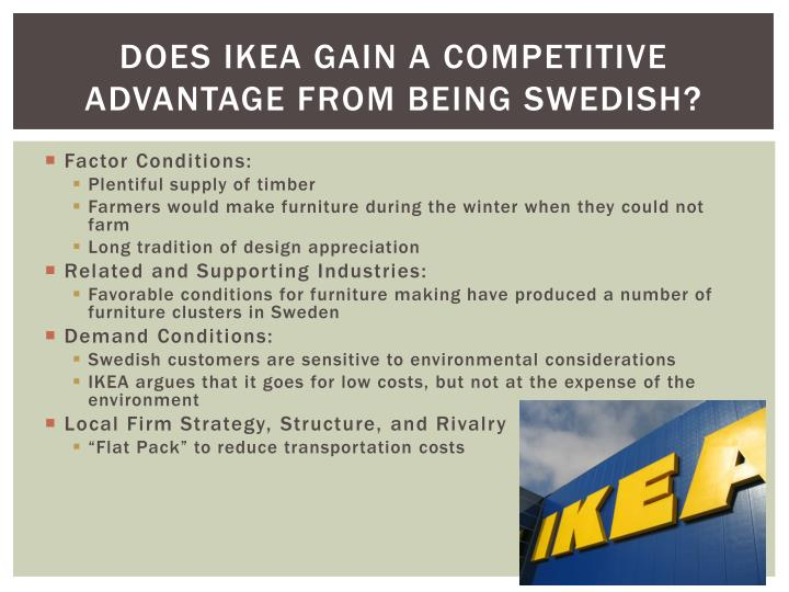 Does IKEA Gain a Competitive Advantage from Being Swedish?