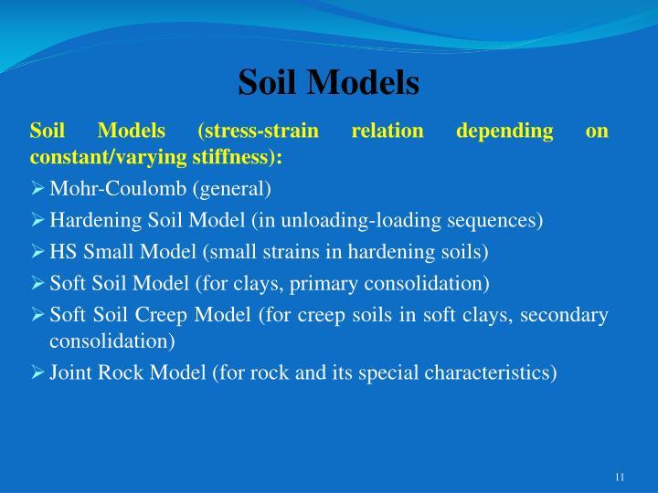 Soil Models