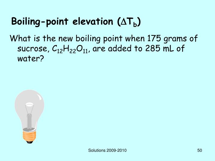 Boiling-point elevation (