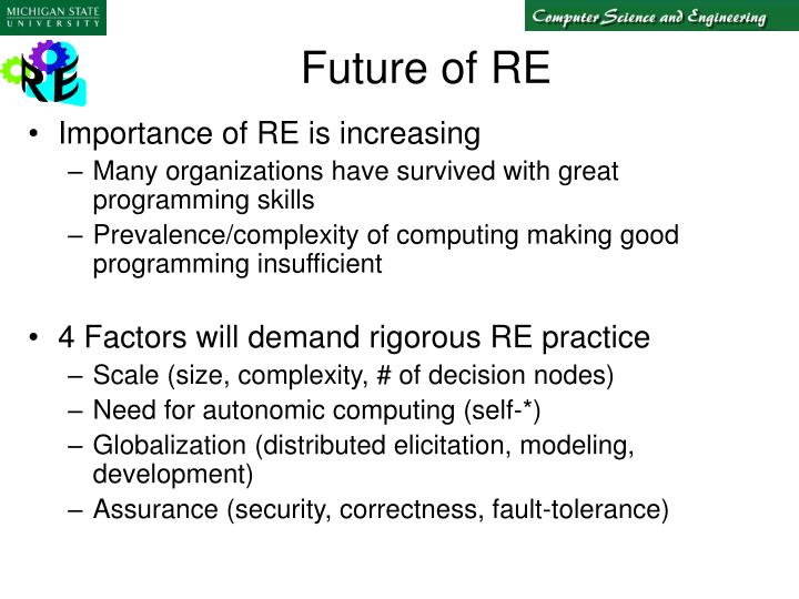 Future of re
