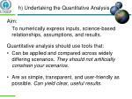 h undertaking the quantitative analysis2