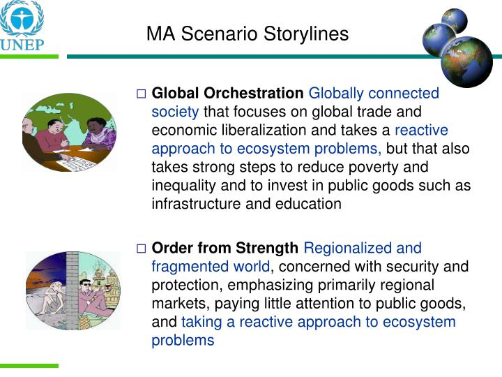 MA Scenario Storylines