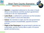 short term country scenarios mont fleur 4 scenarios