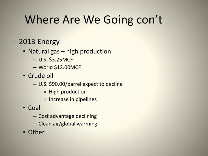 2013 Energy