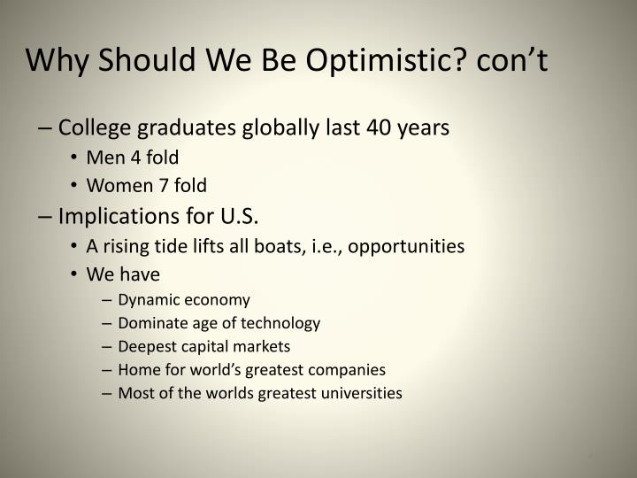College graduates globally last 40 years