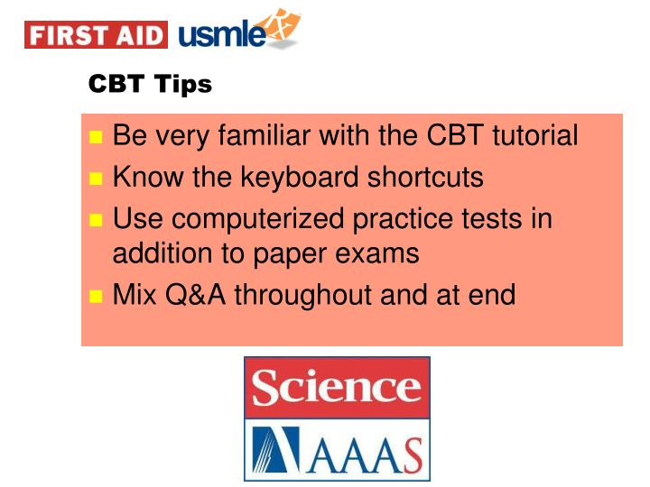 CBT Tips