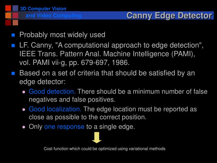 Canny Edge Detector