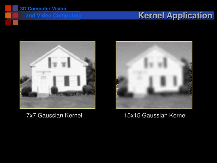 Kernel Application