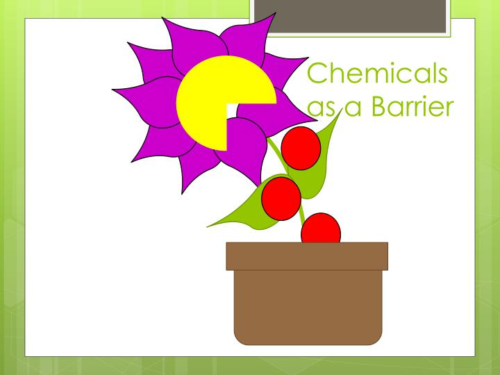 Chemicals as a Barrier