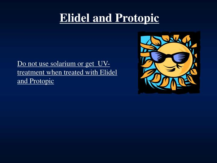 Elidel and Protopic