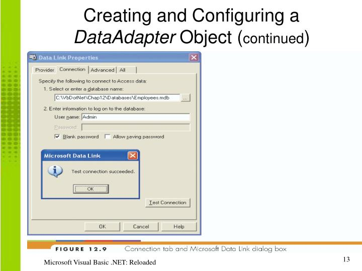 Creating and Configuring a