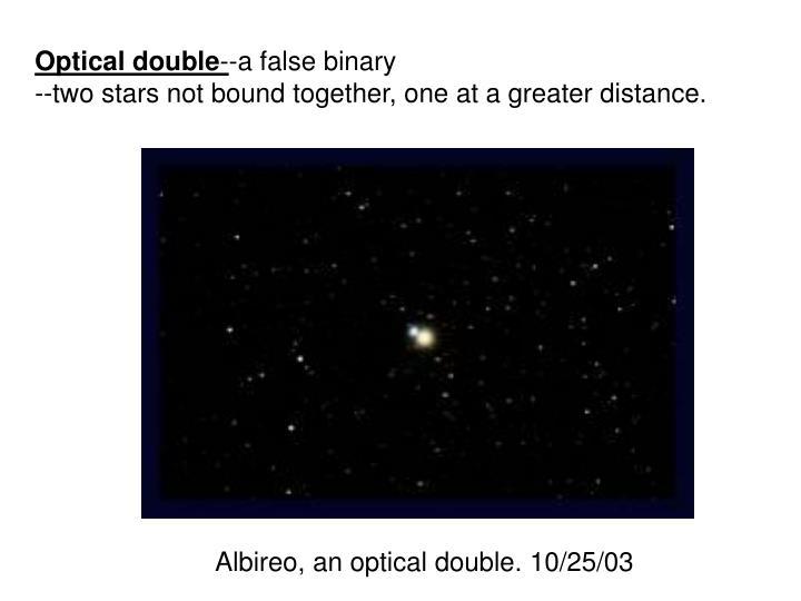 Optical double