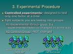 3 experimental procedure