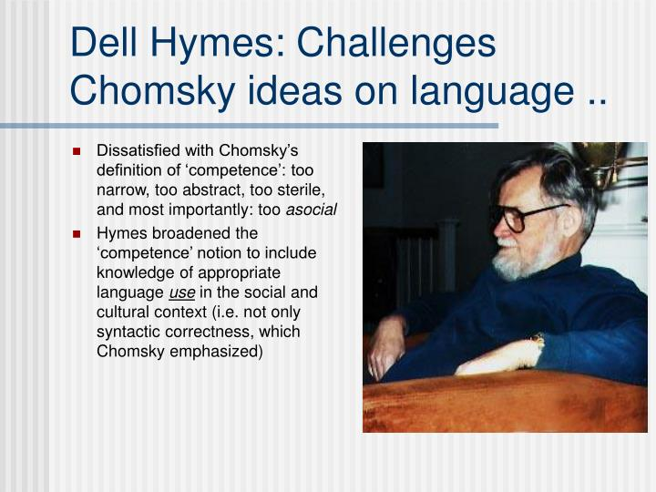 an analysis of speaking by dell hymes Ethnography of communication analysis we will write a custom essay sample on ethnography of communication analysis for only $1390/page order now as what we can learn from the ethnography of communication, more specific in the analysis or theory that was proposed by dell hymes called speaking as the components of speech, dell hymes.