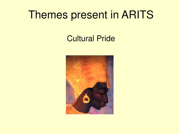 Themes present in ARITS