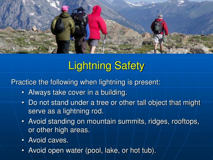 An overview of the dangers of lightning and measures to avoid it
