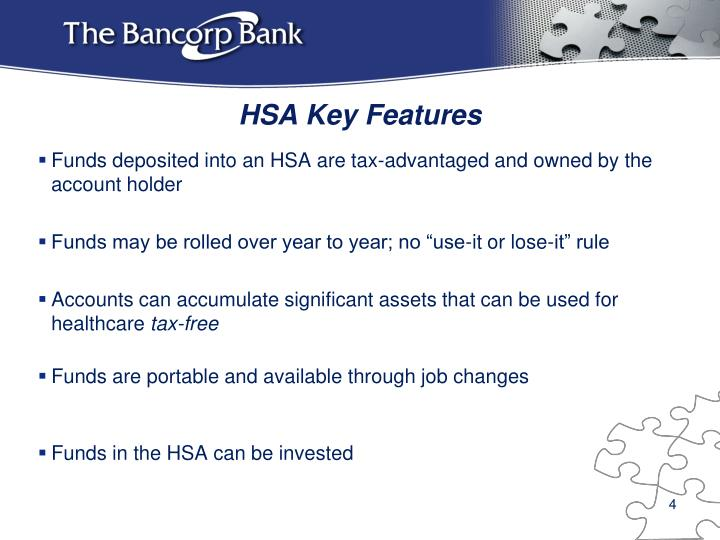 HSA Key Features