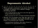 depressants alcohol1