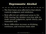 depressants alcohol3