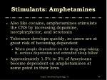 stimulants amphetamines2