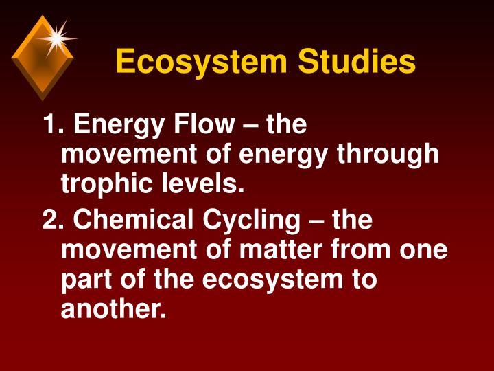 Ecosystem Studies