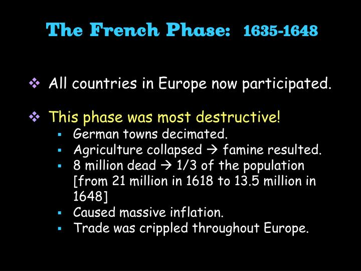 The French Phase: