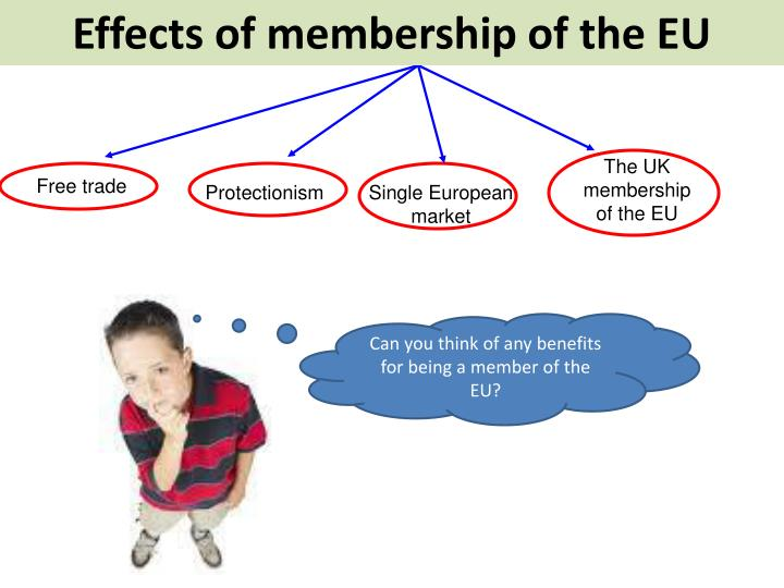 Effects of membership of the EU