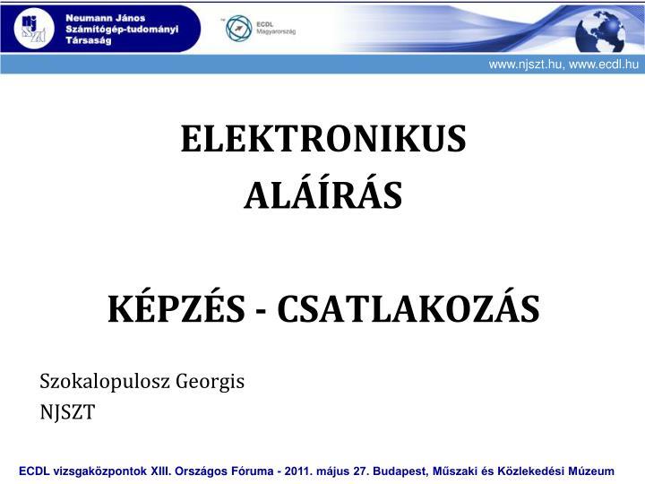 ELEKTRONIKUS
