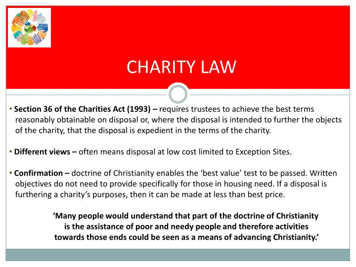 CHARITY LAW