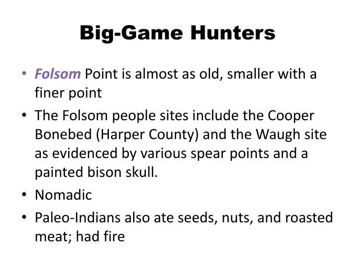 Big-Game Hunters