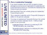 6 run a leadership campaign