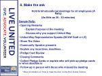 8 make the ask1