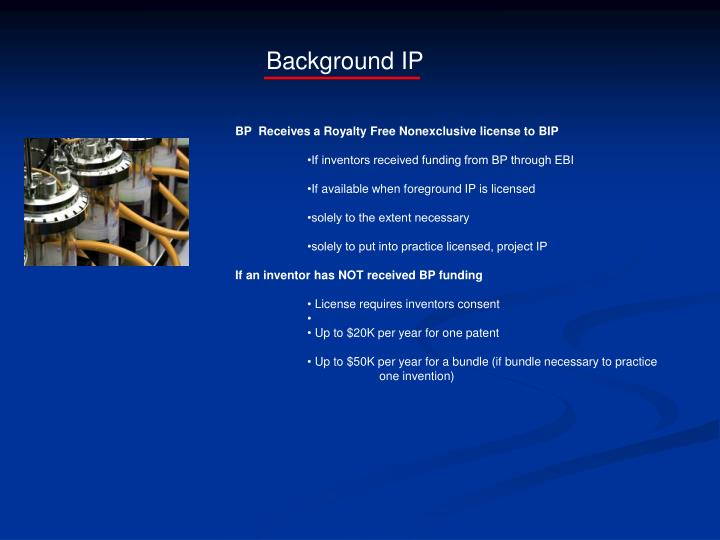Background IP