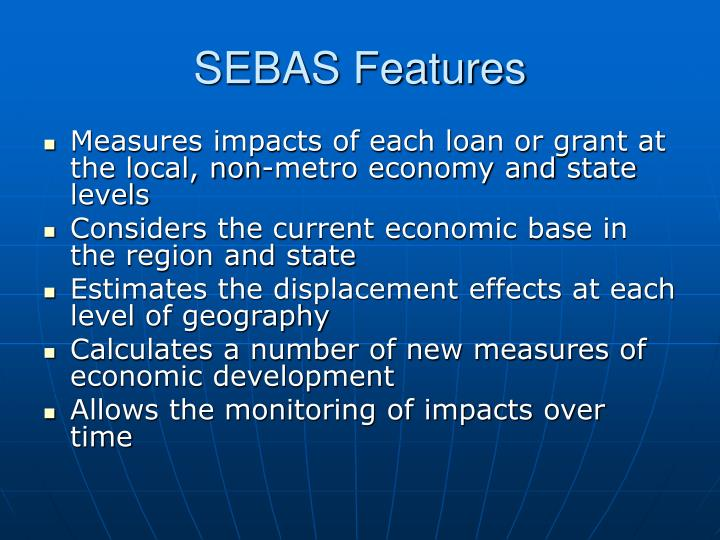 SEBAS Features